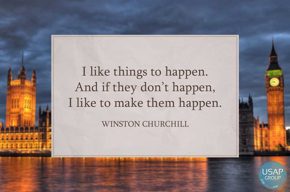"""I Like Things To Happen Quote: Quote Of The Day – """"I Like Things To Happen…"""""""